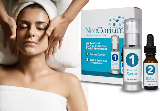 NeoCorium EGF Stem Cell Facial Treatment