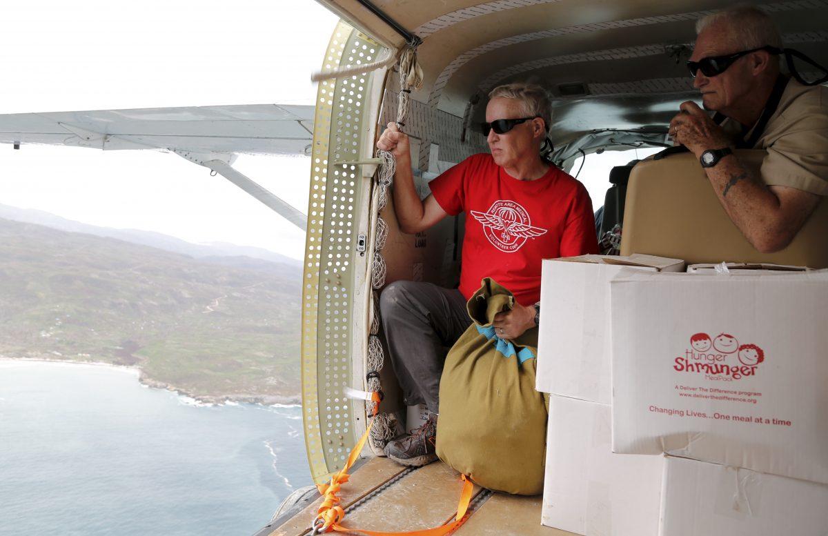 RAM Volunteers Prep to Drop Food in Haiti Post Hurricane Matthew