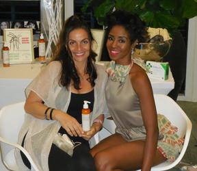 Cristiane Roget_Sherine Bichara_Vasiliki Karlin_ Beauty Bar_FLLFashion Week_with Sherise